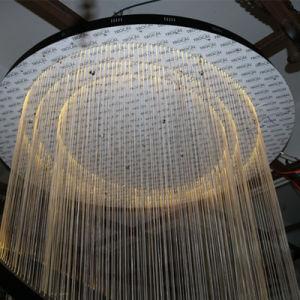 China Hotel Lobby Decorative Hanging Fiber Large Round