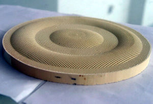 China Infrared Honeycomb Ceramic Plate For Gas Burner