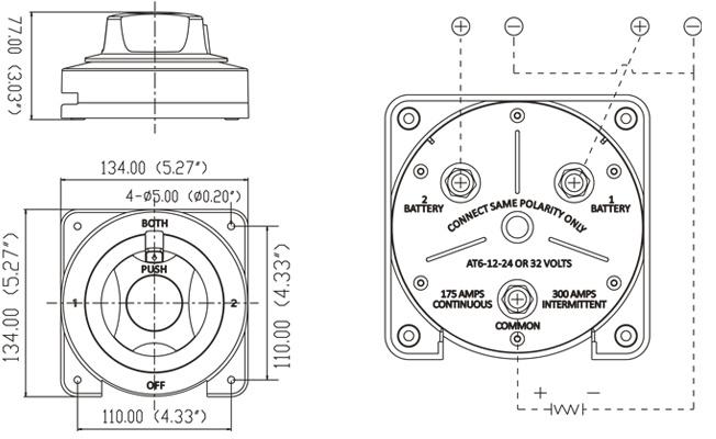 3 position switch diagrama de cableado