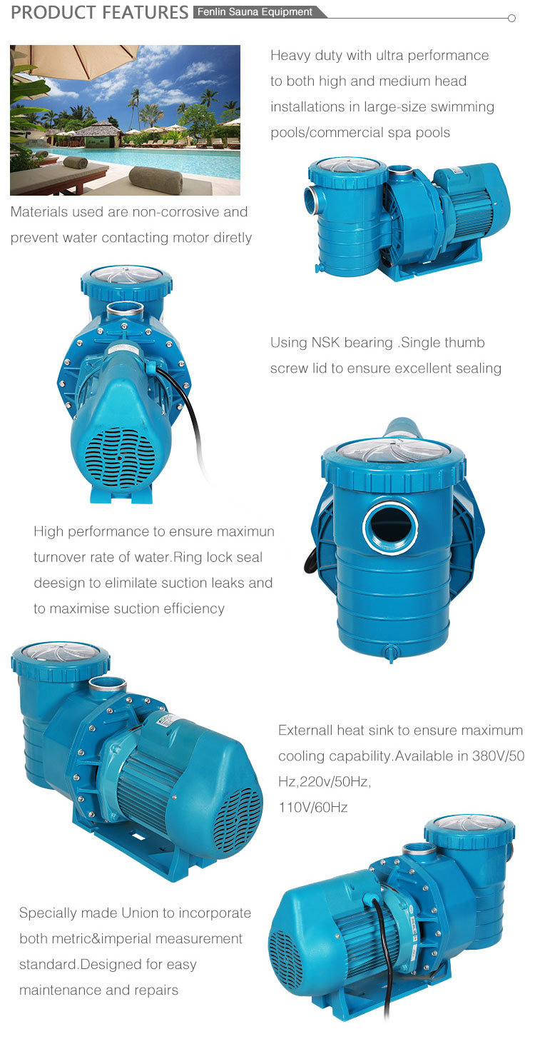 Swimming Pool Filter Pump Price Commercial Electric Motor Swimming Pool Filter Circulation Water
