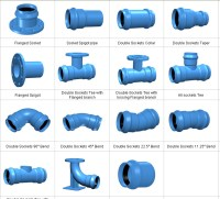 China Ducitle Iron Fittings for PVC Pipe - China Flange ...