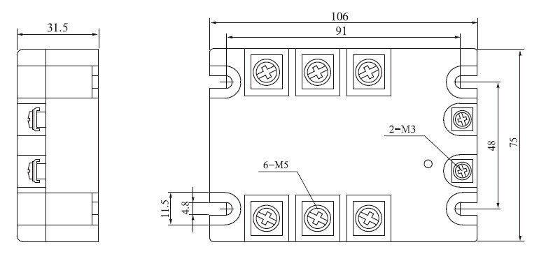ac ac solid state relay or ssr