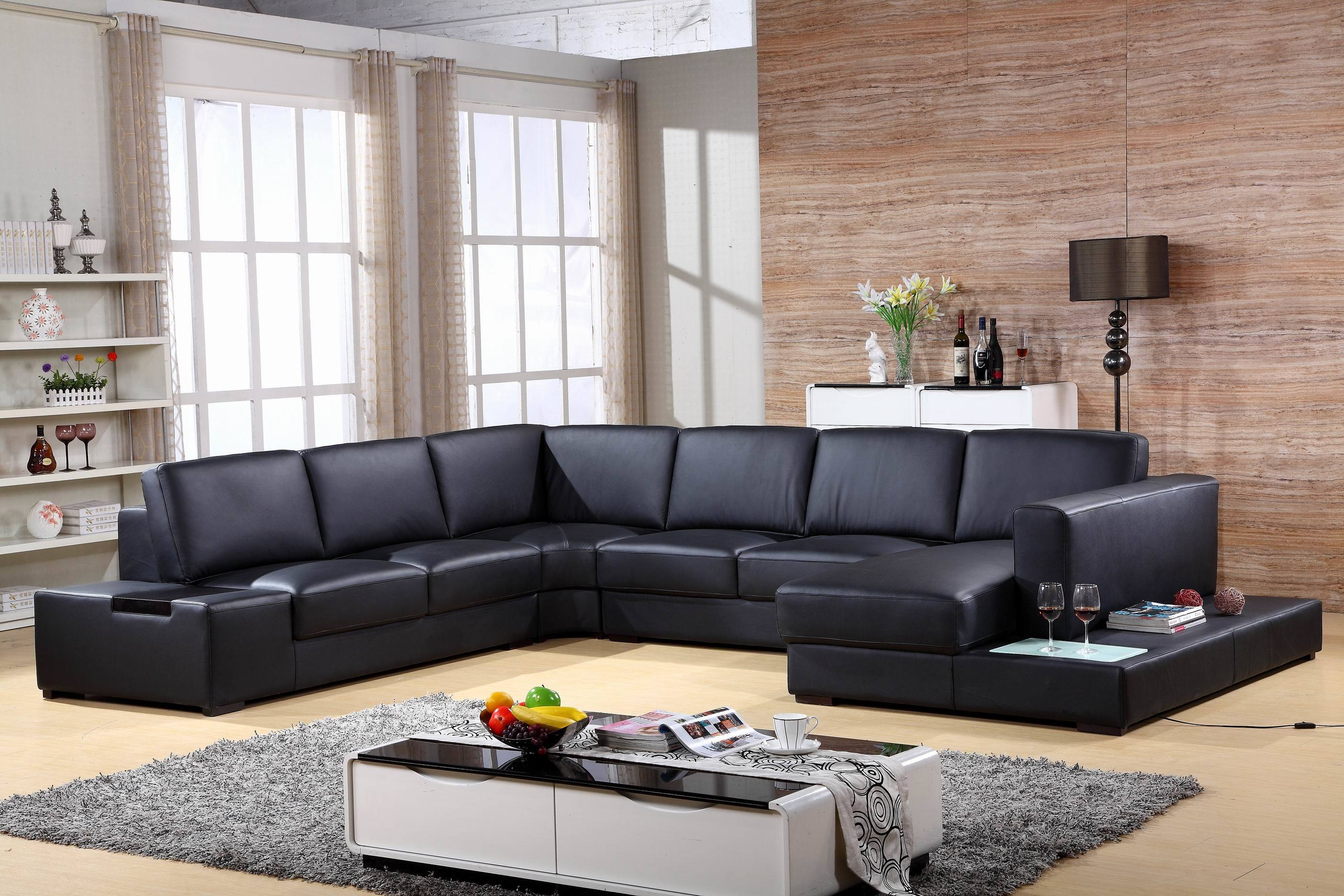 Big Royal Sleeper Couch Home Luxury Classic Led Light 9 Seater Germany Living Room Leisure Chair Combination Sofas L U Shape Real Leather Corner Sectional Sofa China Leisure Sofa Sofa