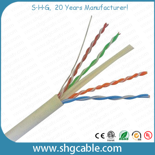 Fluke Test Pass Network LAN Cable CAT6 UTP - China CAT6, LAN Cable
