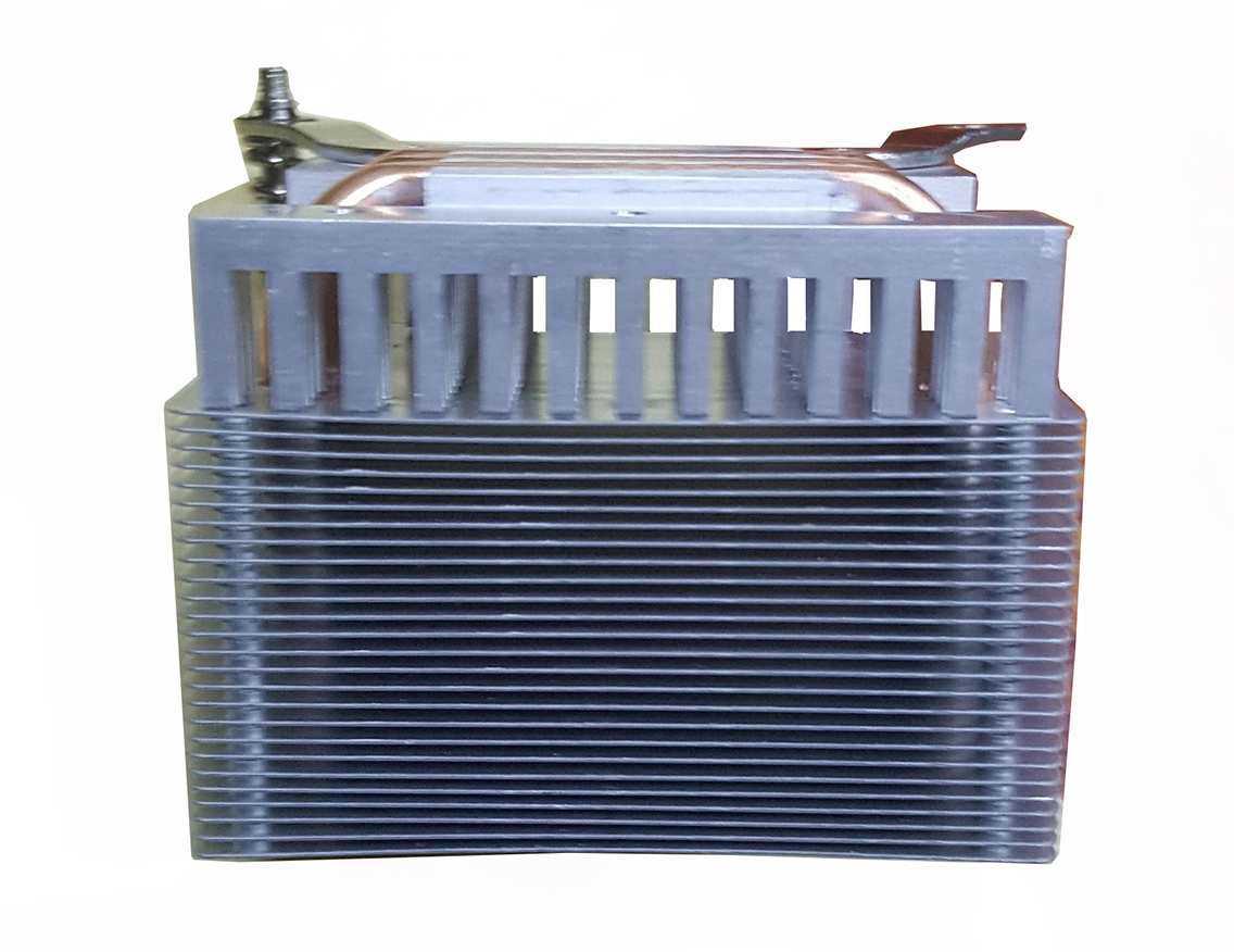 Wattage Radiator Aluminum Profile Based Radiator With Copper Sintered Heat Pipes