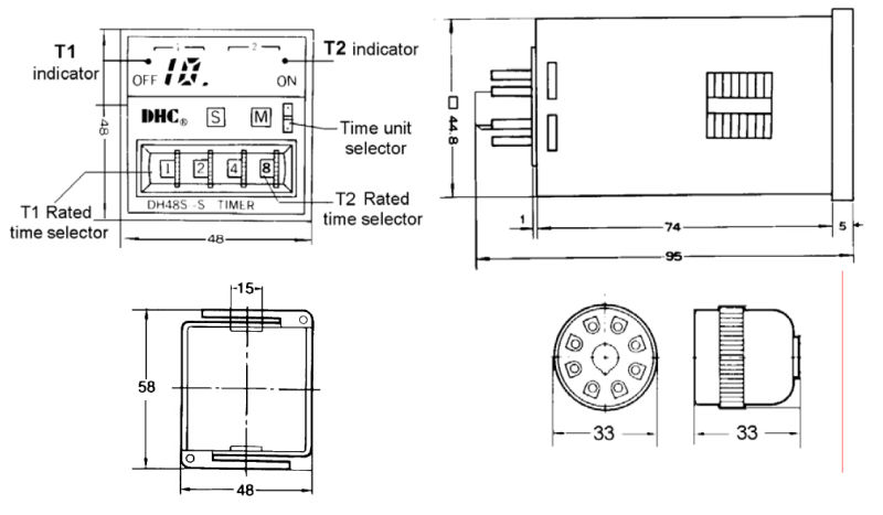 digital timer relay omron