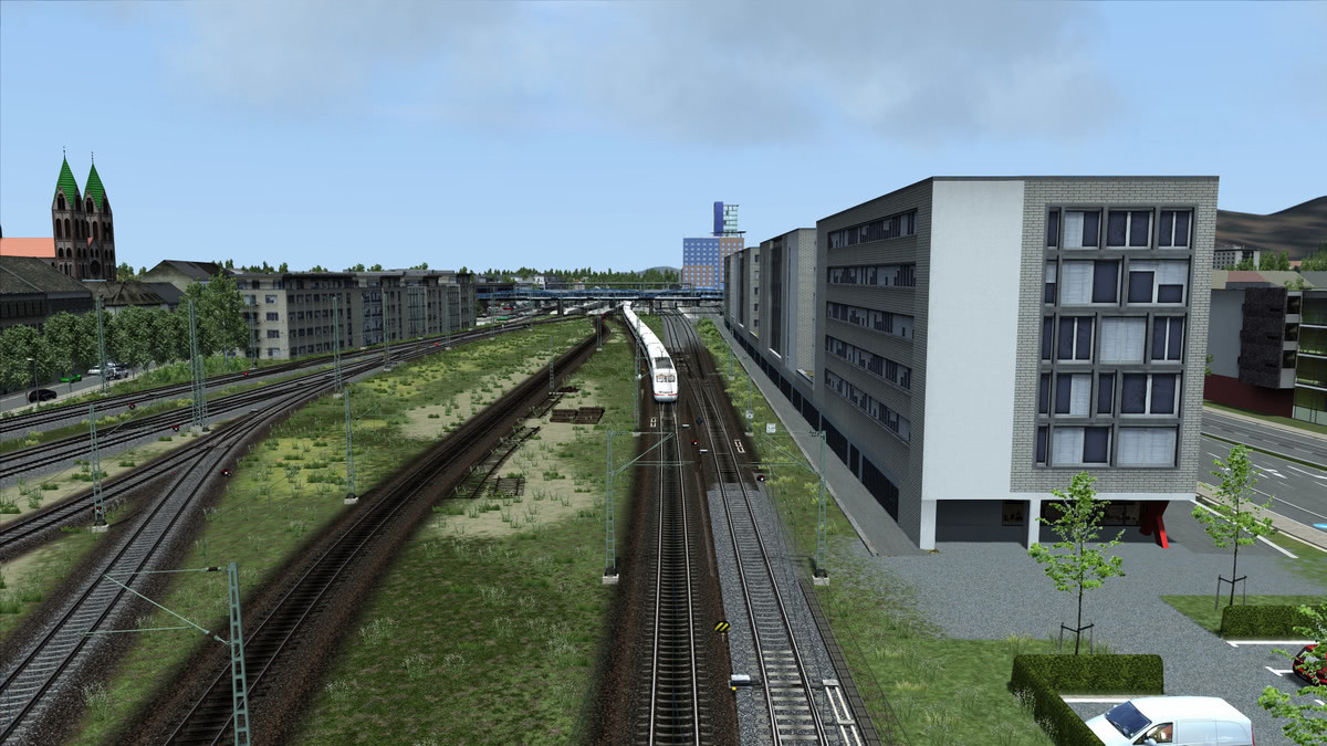 Container Freiburg Train Simulator 2018