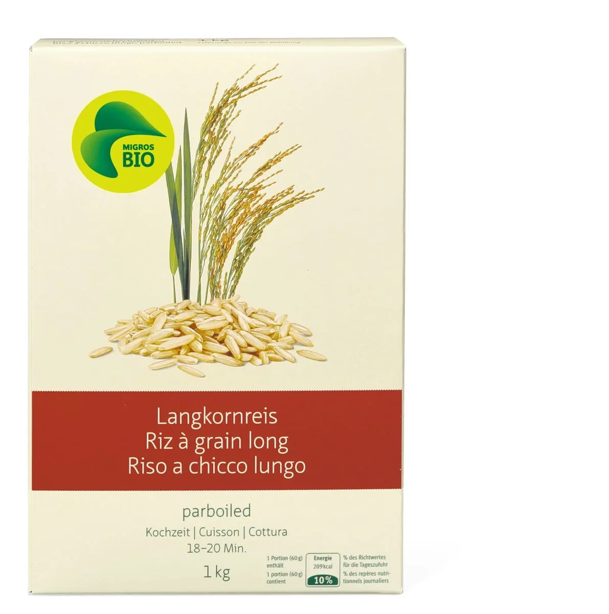 Grain Bio Bio Riz Grain Long Parboiled Migipedia
