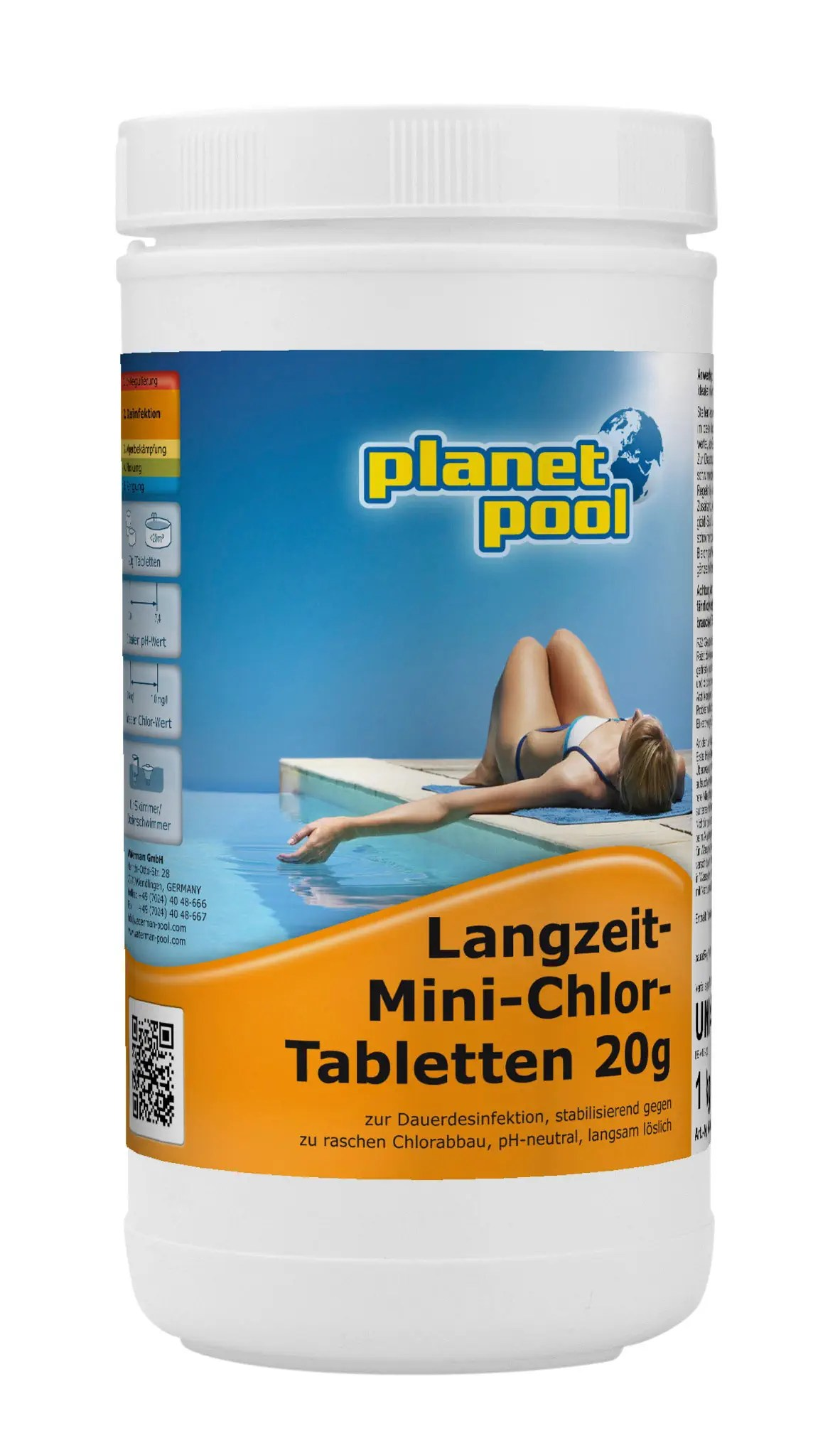 Chlor Planet Pool Planet Pool Langzeit Chlor Tabletten 20g Migros