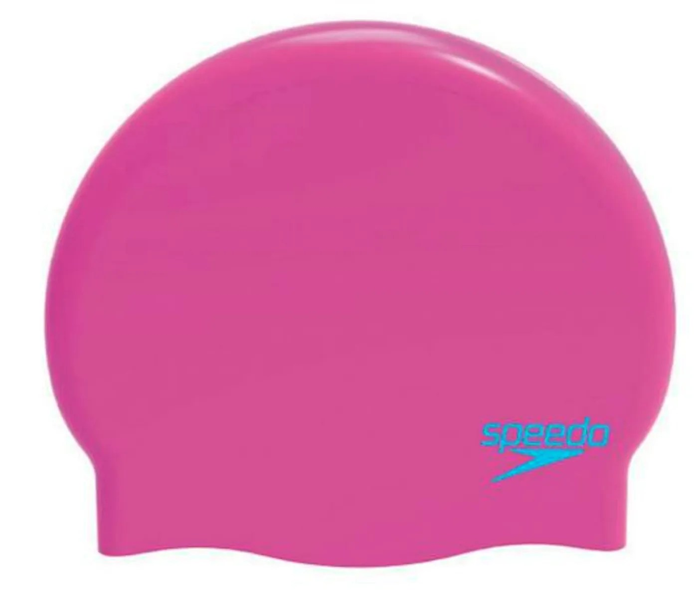 Badecape Kinder Speedo Plain Moulded Silicone Junior Badekappe Junior
