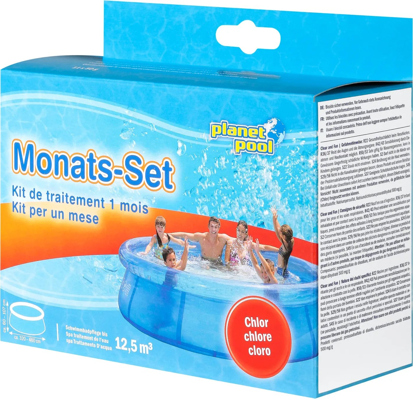 Chlortabletten Pool Schädlich Planet Pool Montas Set Chlor