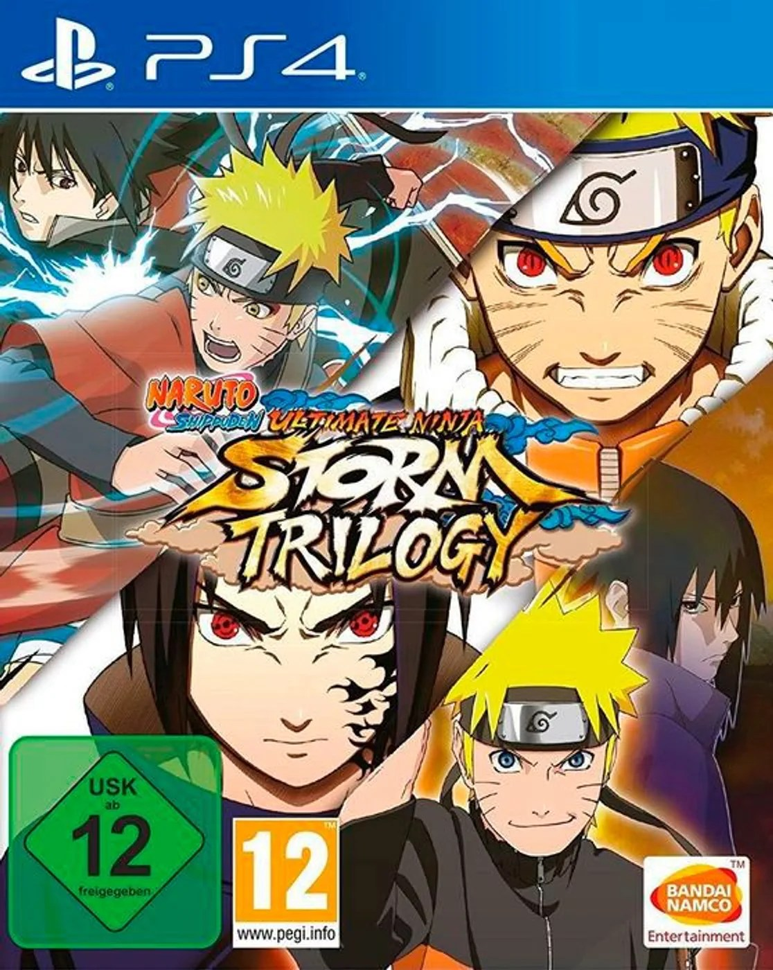 Ps4 Naruto Ultimate Ninja Storm Trilogy D Box Migros