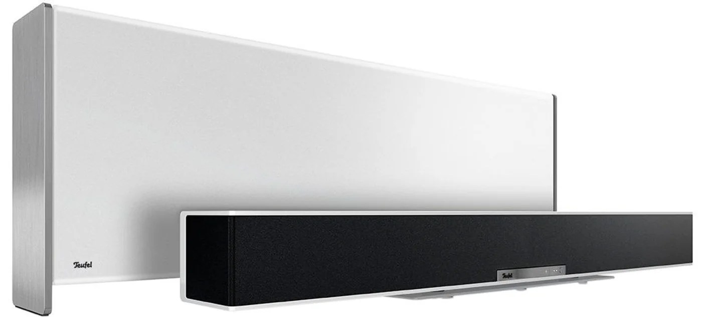 Soundbar Weiß Teufel Streaming Weiss Multiroom Soundbar