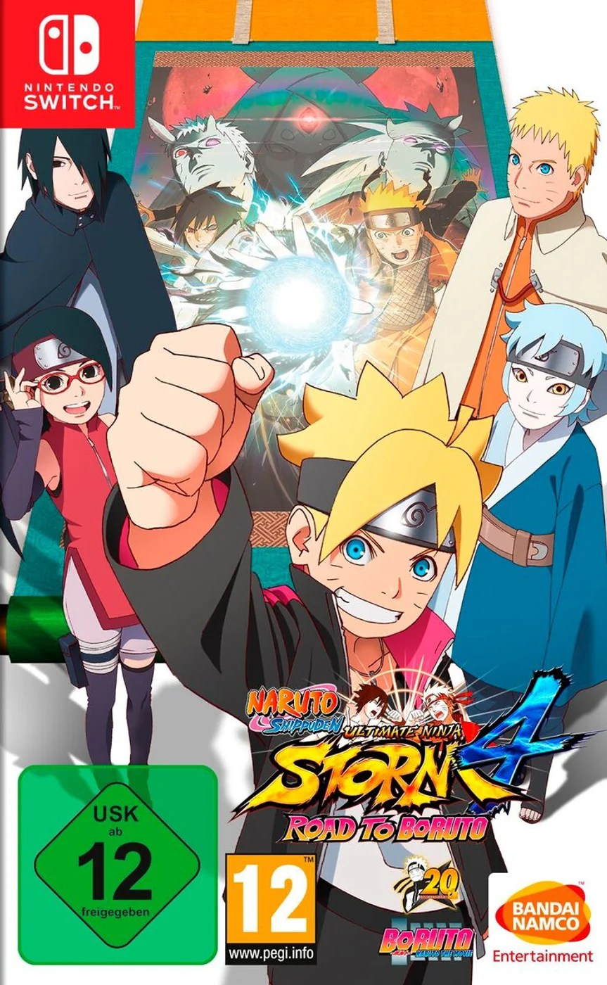 Nsw Naruto Shippuden Ultimate Ninja Storm 4 Road To Boruto Box Migros
