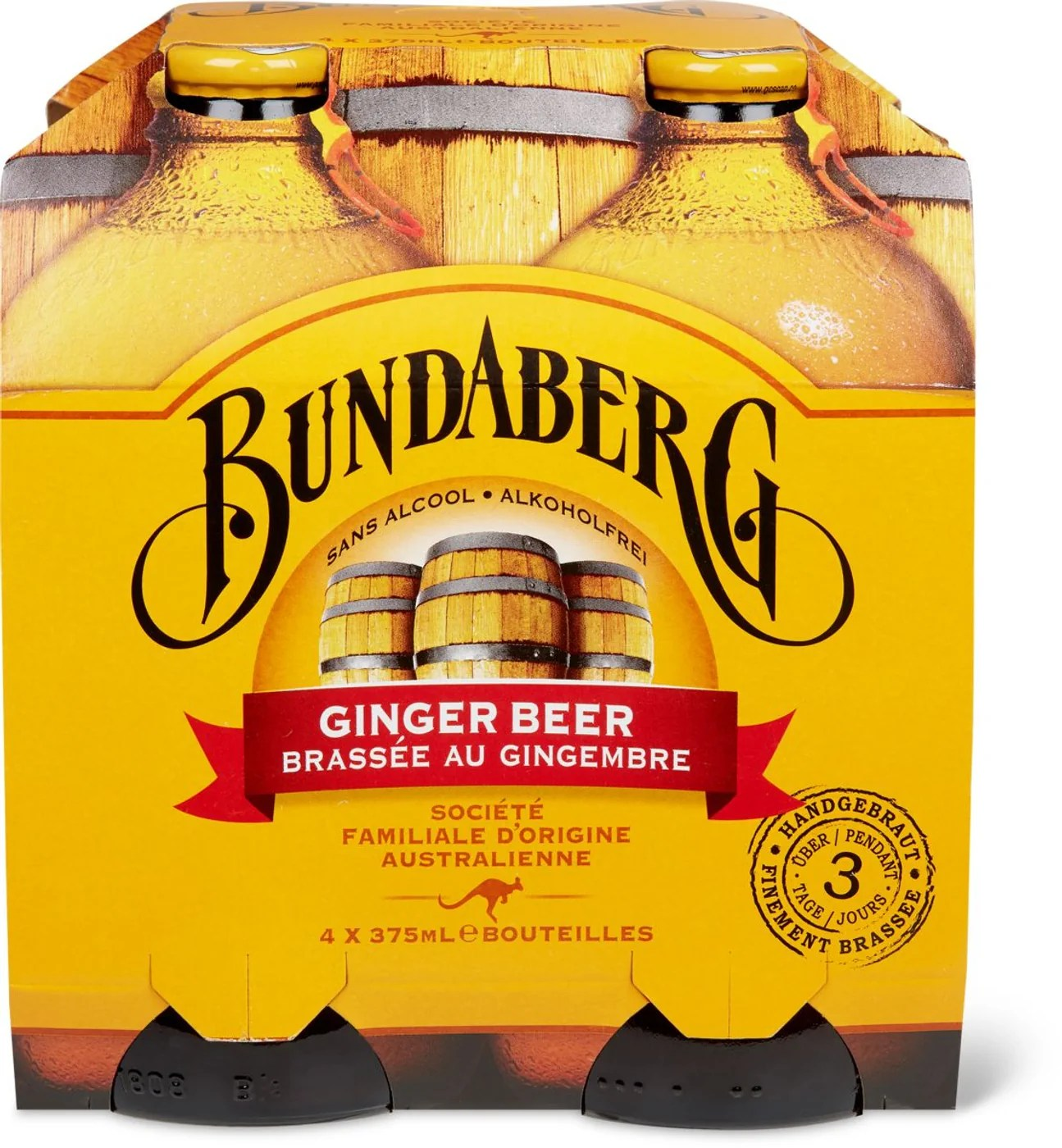 Bundaberg Ginger Beer Migros