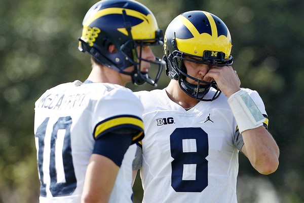Don\u0027t rule out Michigan QB Dylan McCaffrey for 2018 just yet - mlive