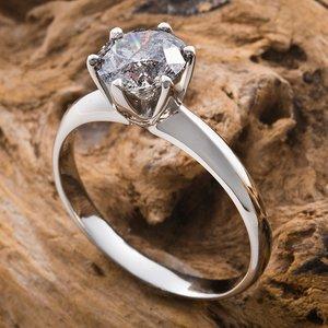 プラチナPt900  1.2ctダイヤリング 指輪 13号(鑑別書付き)