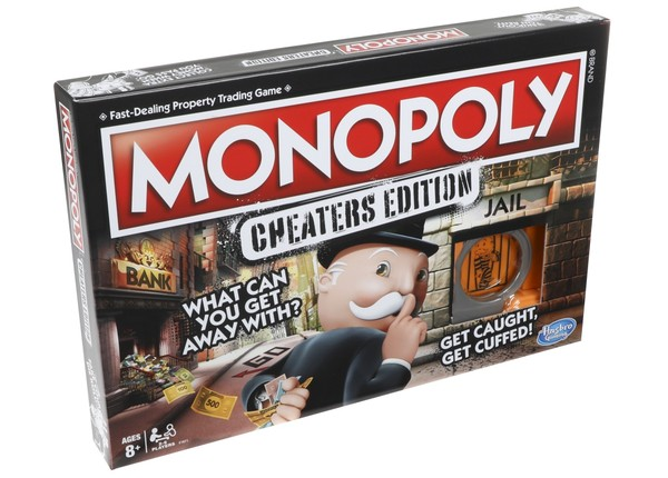 Monopoly Game Cheaters Edition New Monopoly For Cheaters Skip A Space Collect 200 Nj