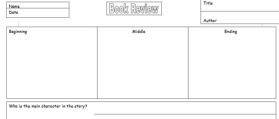 Teacher Resource Book Review Template for pupils Software