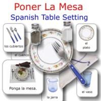 Poner La Mesa: Spanish Table Setting   eBooks   Education
