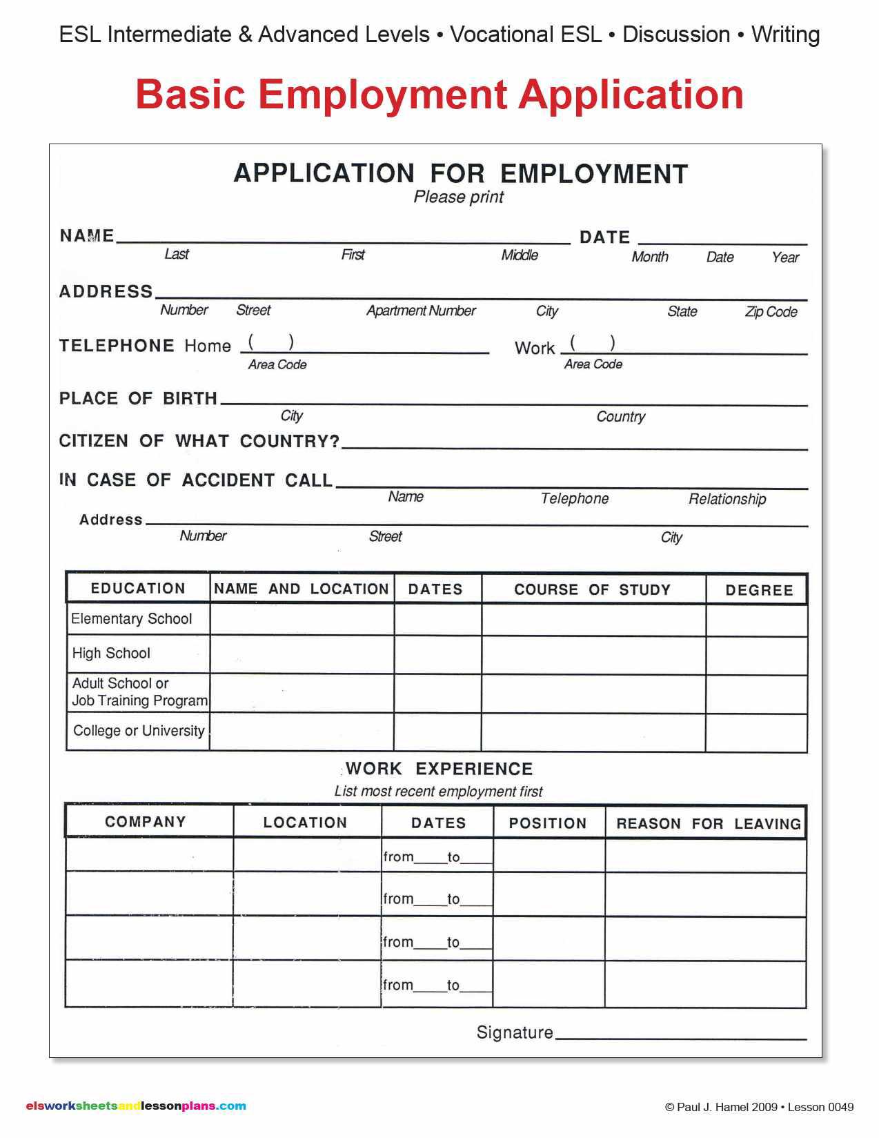 job application forms tk job application forms 23 04 2017