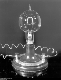 Replica of Thomas Edison's First Electric Lamp | Social ...