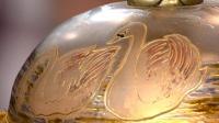 Appraisal: Art Nouveau Swan Lamp, ca. 1890