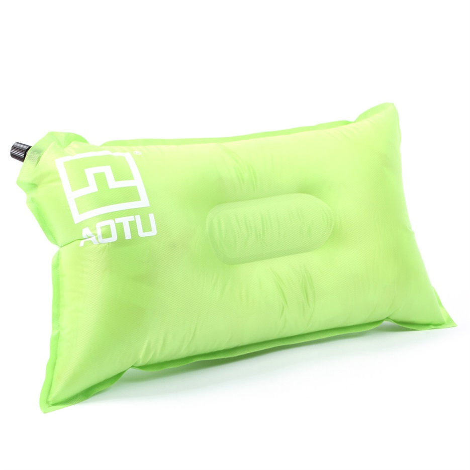 Self Inflating Camping Pillow Air Bed Cushion Travel