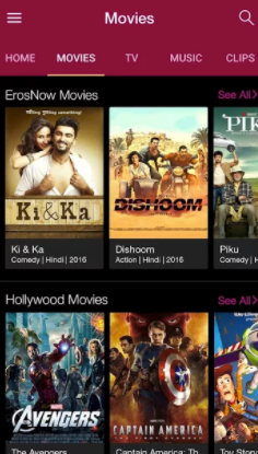 Jio Cinema App Android