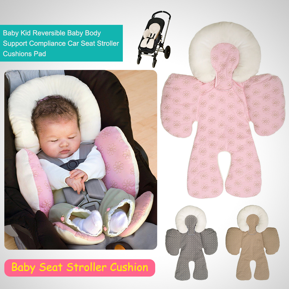 Car Seat Carrier Stroller Details About Baby Kid Reversible Baby Body Support Compliance Car Seat Stroller Cushions Pad
