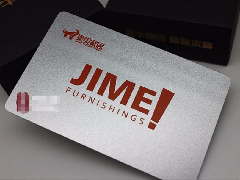 250 PVC Plastic VIP / Gift Card Thick Business Cards Printing