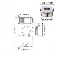 G1/2'' Brass Bidet Shower Head Diverter Valve Faucet Tap T ...