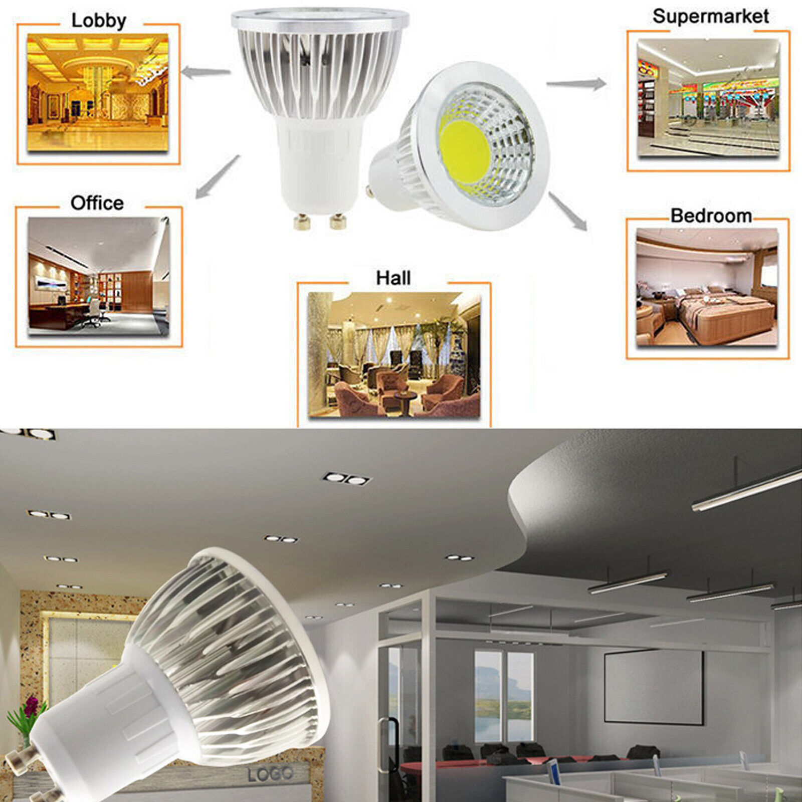 Ultra Bright Mr16 Gu10 E27 E14 Dimmable 6w 9w 12w Led Cob Spot Light Bulbs Cree Dimmable Led Cob Spot Light Bulbs Gu10 Mr16 E27 E14 12w 9w