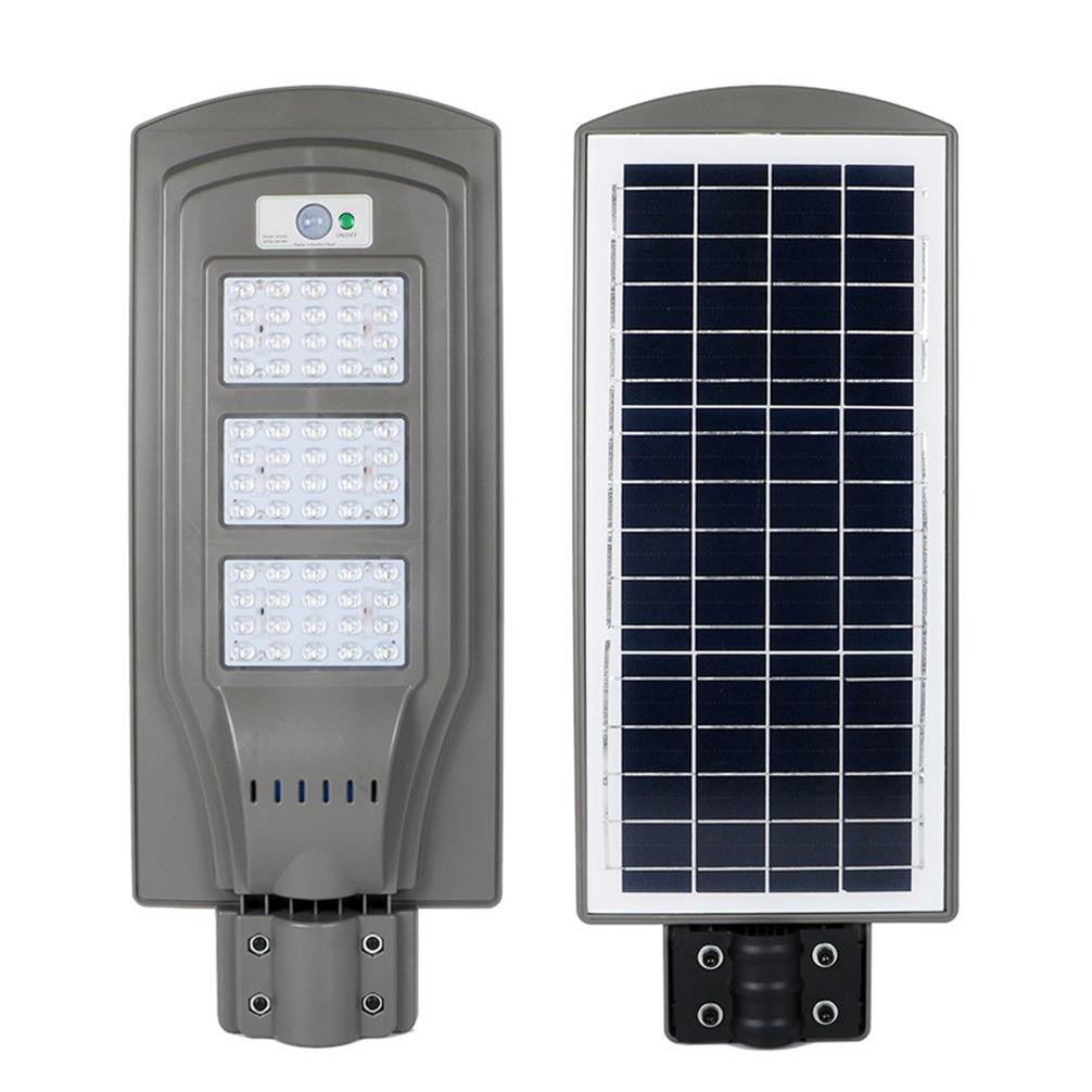 Led Solar Details About Outdoor Commercial Led Solar Street Light Ip65 Dusk To Dawn Sensor Lamp 1 000lm