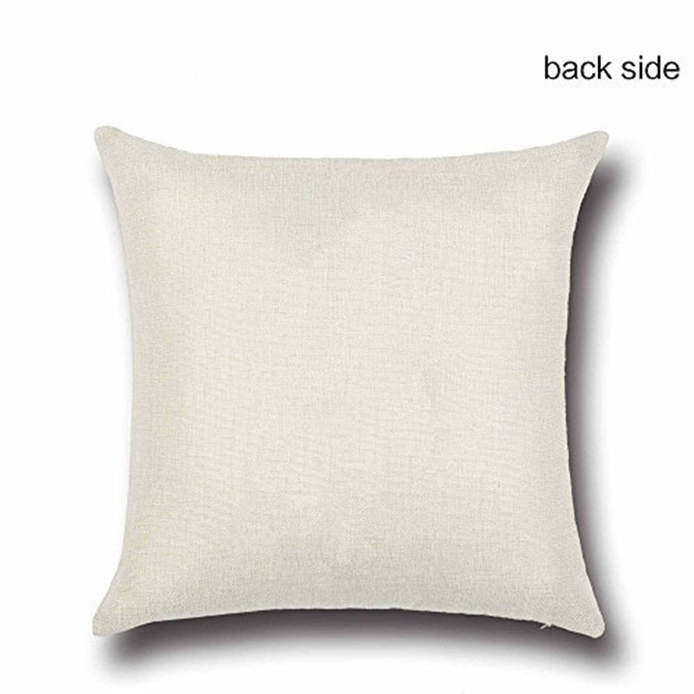 Quotes On Sofa Details About Vintage Quotes Cotton Linen Pillow Case Sofa Car Throw Cushion Cover Home Decor