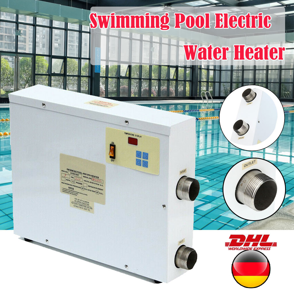Poolzubehör Berlin 9kw 220v Schwimmbeckenheizungen Swimming Pool Spa Electric