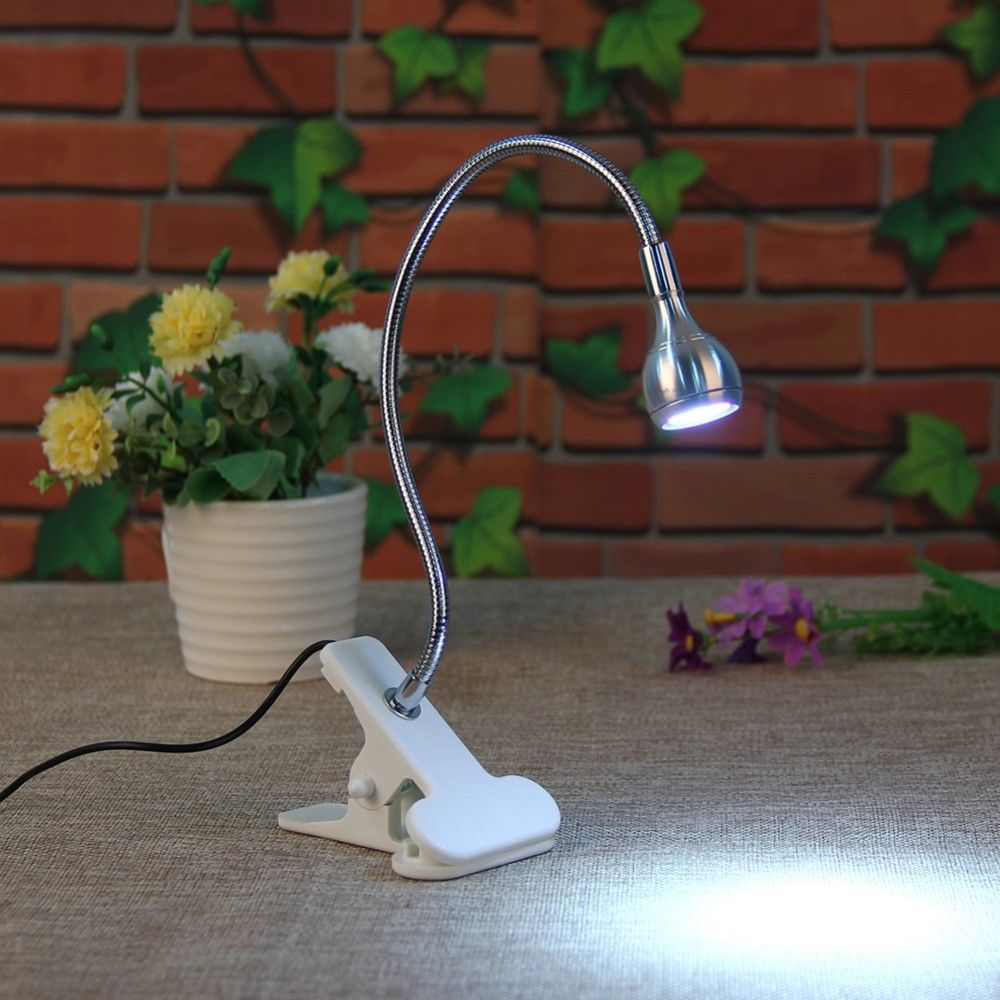 Clip On Bed Lamp Details About Flexible Usb Led Light Clip On Bed Table Desk Study Book Reading Lamp En
