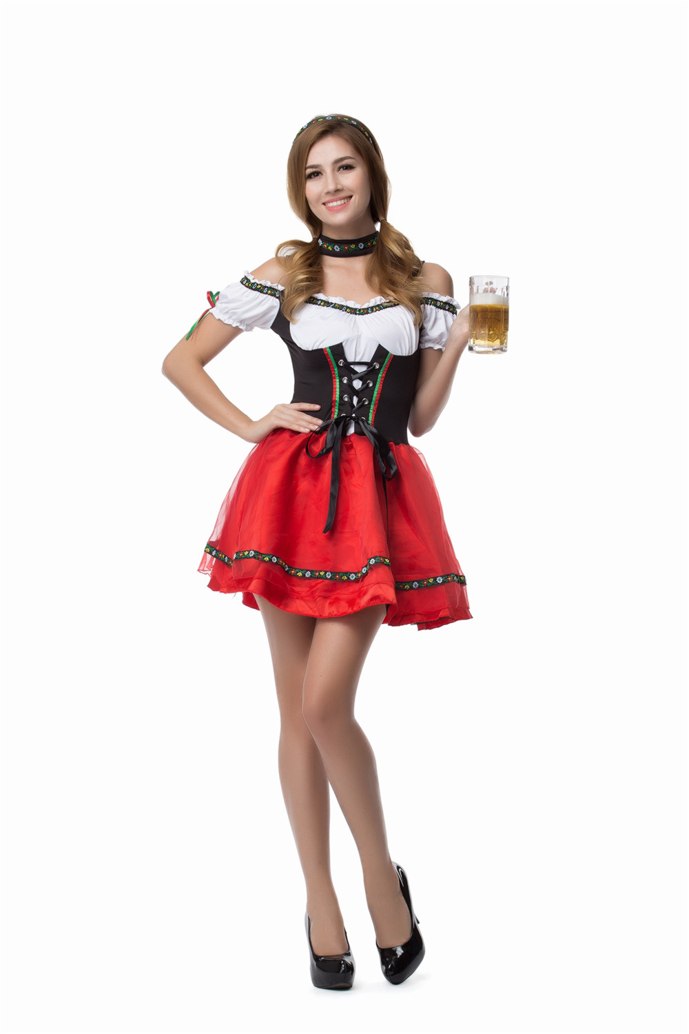 Oktoberfest Wench Outfit Au German Oktoberfest Beer Wench Costume Women Bavarian