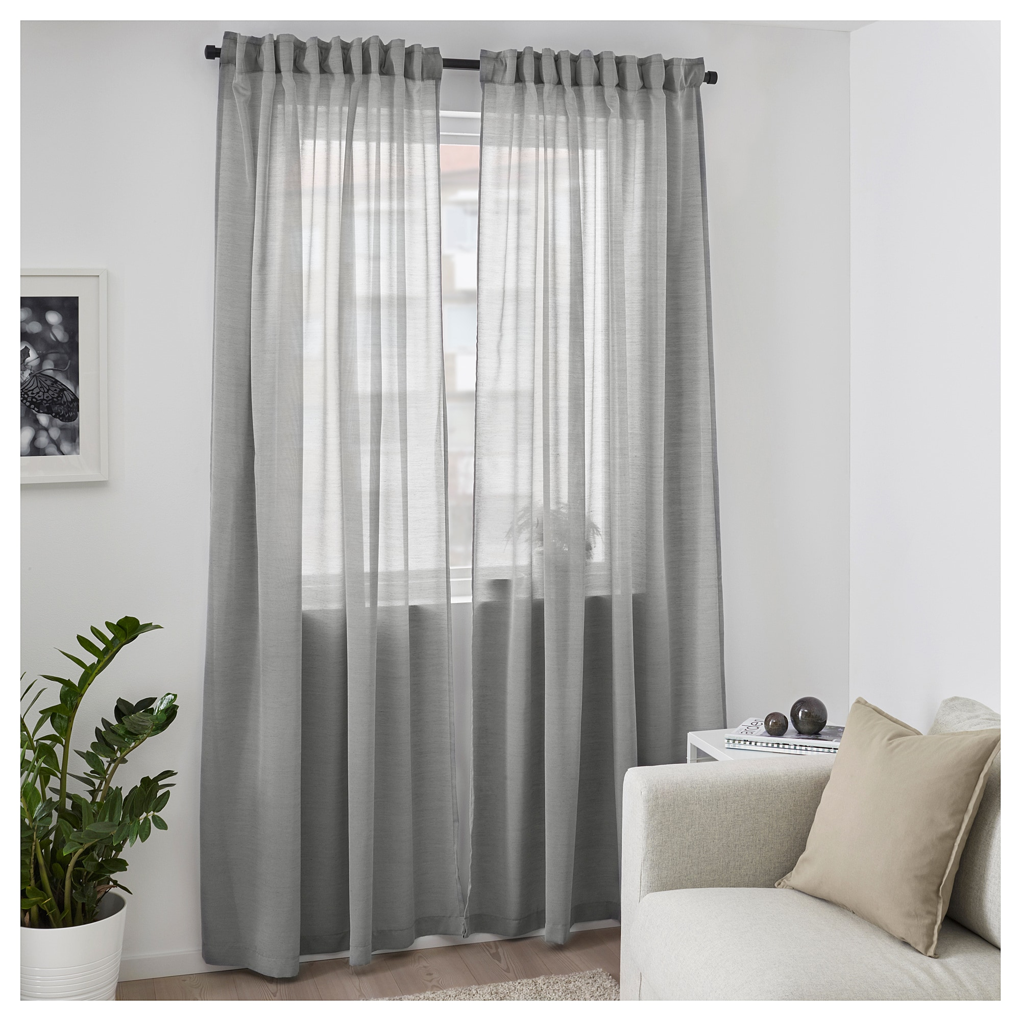 Sheer Curtains Australia Ikea Sheer Curtains Bedroom Living Room Window Blinds 2 Panels