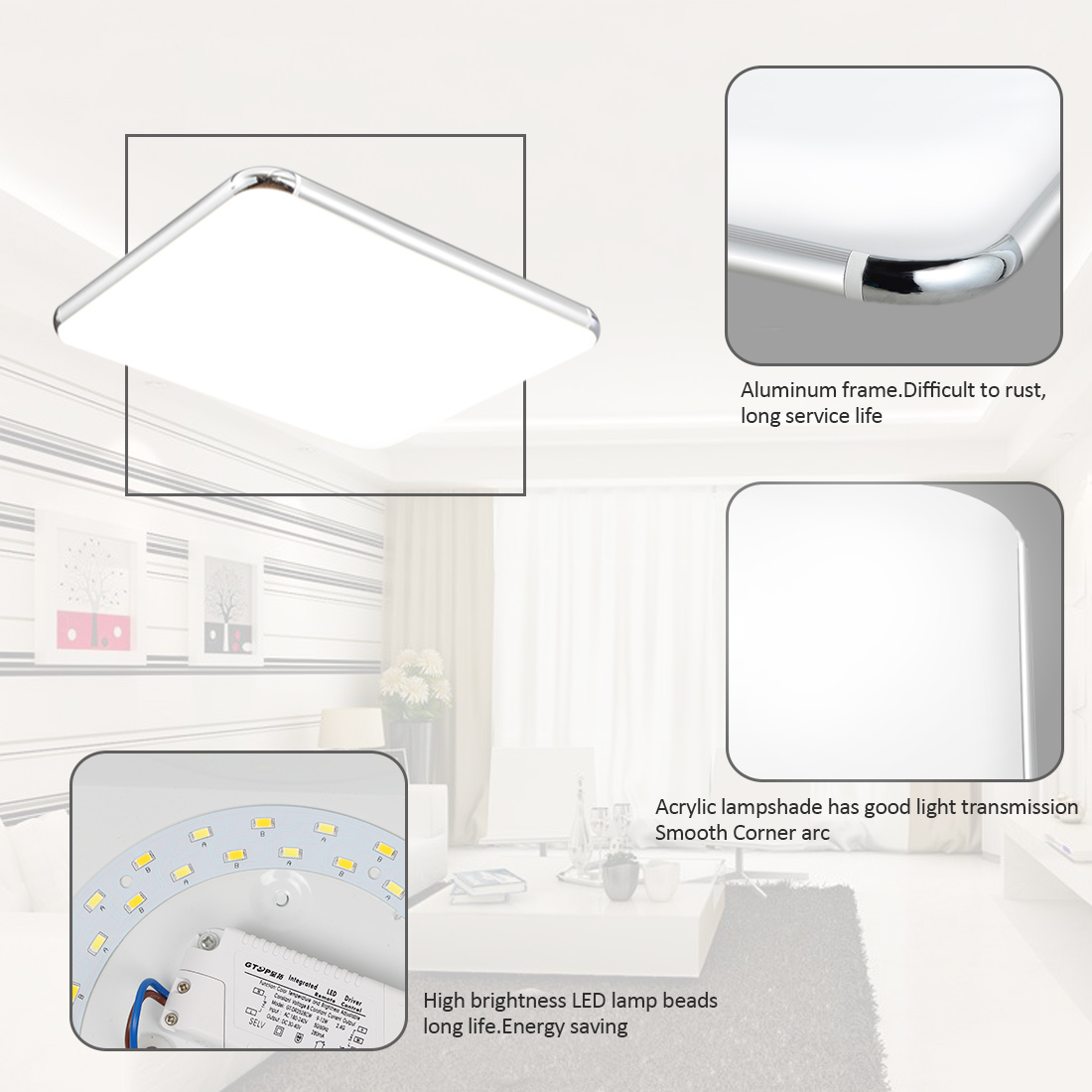 Led Panel Bad Dimmbar Details Zu Dimmbar Led Panel Ultraslim Lampe Deckenleuchte 16w 96w Bad Küche Wandleuchte De