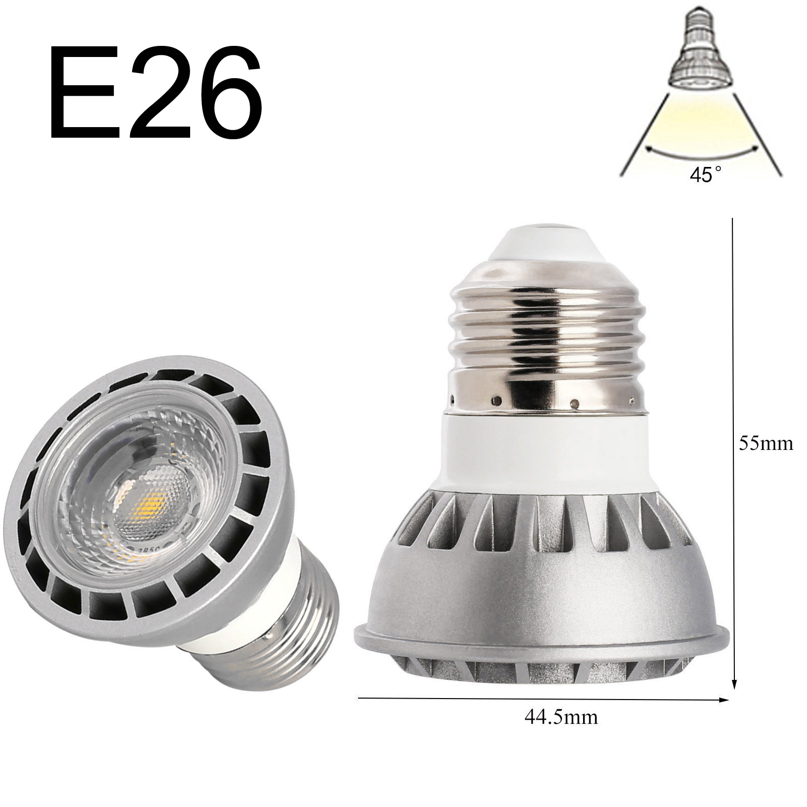 Ultra Bright Mr16 Gu10 E27 E14 Dimmable 6w 9w 12w Led Cob Spot Light Bulbs Cree 15w E27 Gu10 Mr16 E26 Dimmable Led Spotlight Cob Lights
