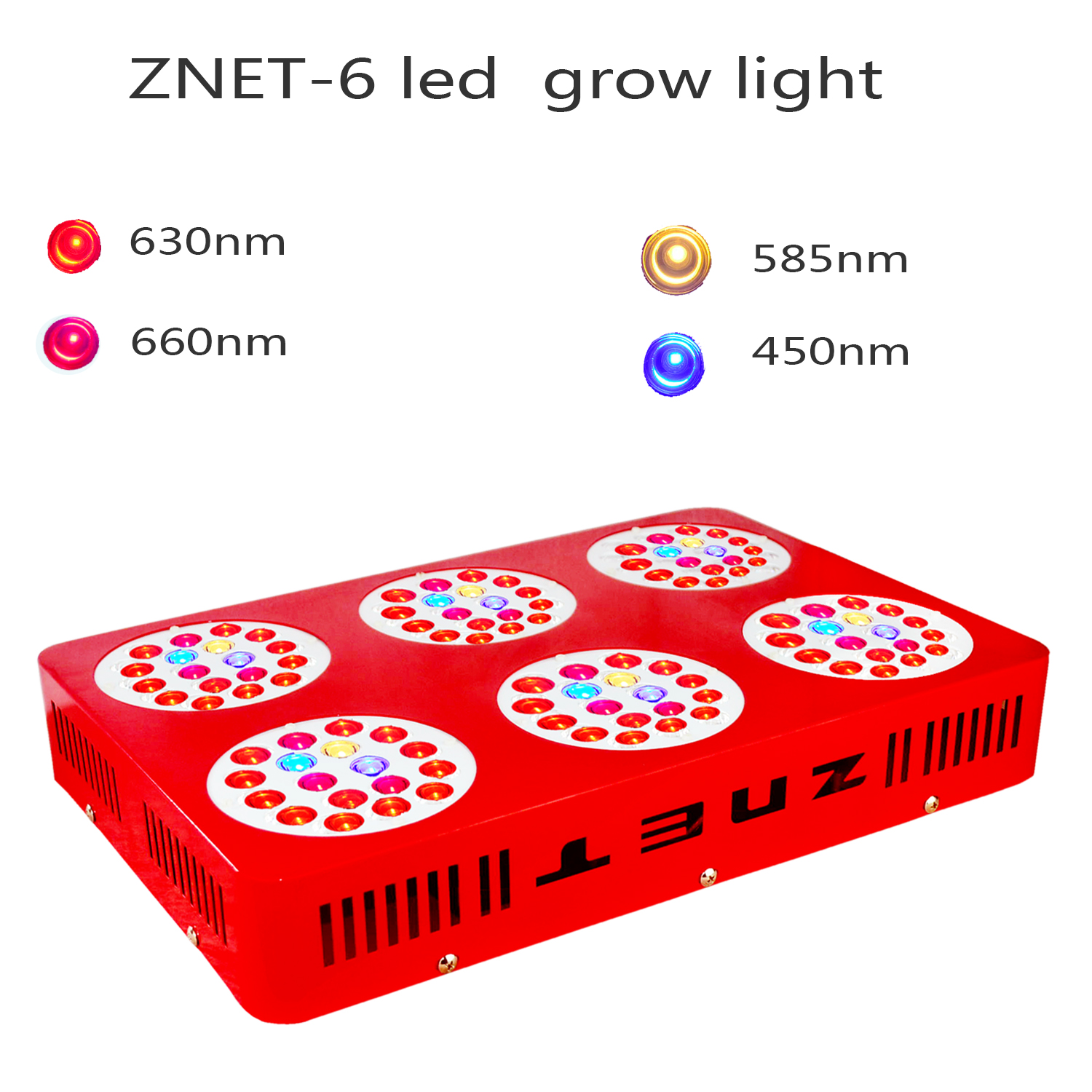Led Licht Für Zimmerpflanzen Wyzm Led Grow Light Led Pflanzenlampe Full Spectrum