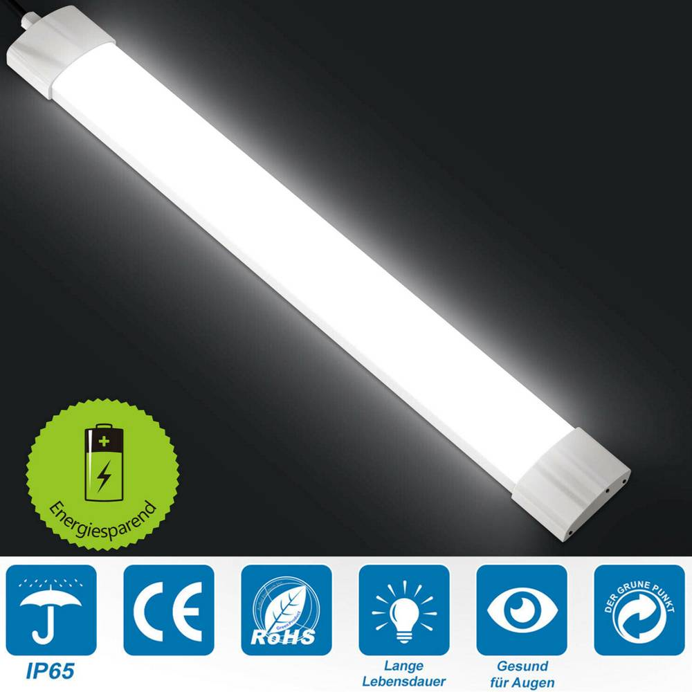 Feuchtraumlampe Led Led Feuchtraumleuchte Feuchtraumlampe Wannenleuchte Röhre Tube Ip65 60 120 150cm Ebay