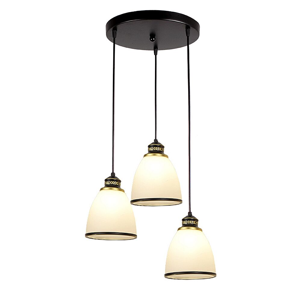 Glass Lamp Bowl Details About 3 Light Ceiling Hanging Lamp Bowl Shape Pendant Lighting Glass Fixture Shade
