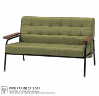 Pipe Sofa Charming Pipe Sofa Steel Grill Frame Modern Set ...