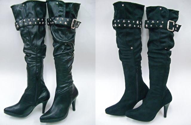 Shoes Yamaguchi Venti Anni 57401 Filipa Belted Knee High