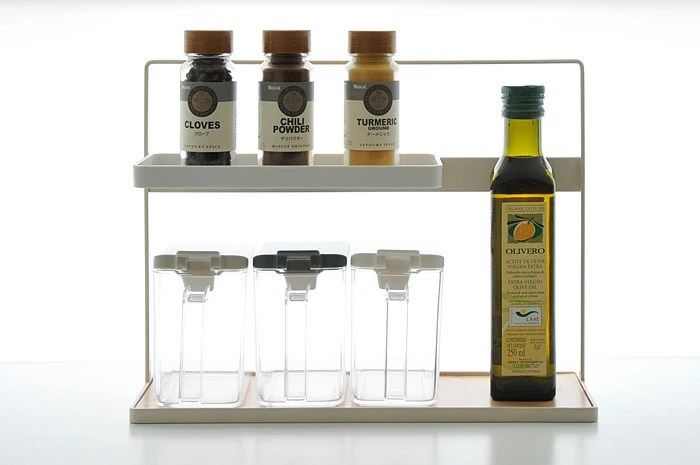 Sarasa Designstore Condiment Rack Corner Rack Kitchen