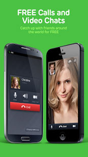 LINE Free Calls Messages