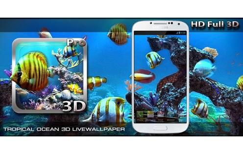 3d Parallax Wallpaper Apk Download Tropical Ocean 3d Lwp V1 0 Apk For Android