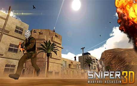 Sniper Warfare Assassin 3D